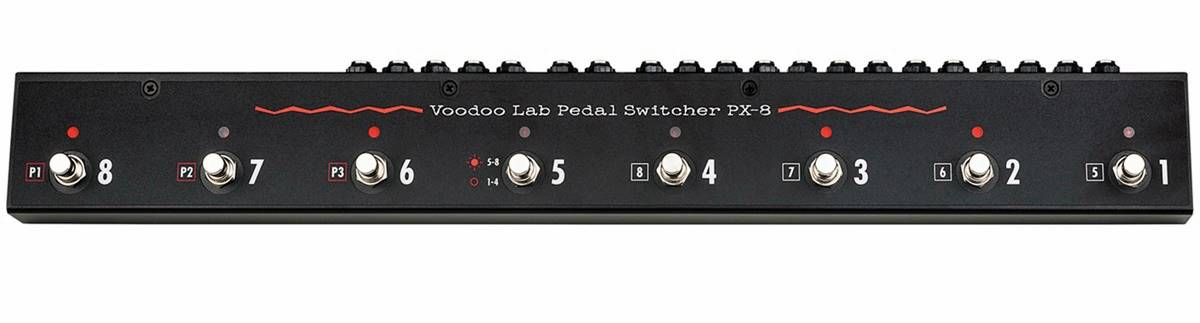 PX-8 Pedal Loop Switcher