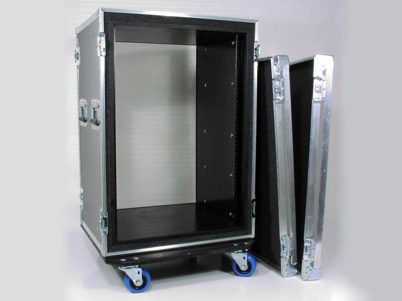 18u Heavy Duty Shockmount Rack