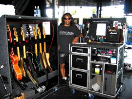 customers-gear-Jerry-Carillo-guitar-tech-tour-manager