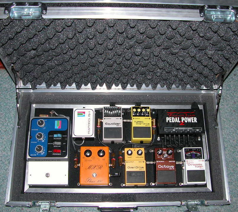 20 X 16 Pedalboard Pedalboards By Stompin Ground