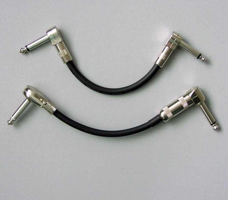 "G&H VLP Right Angle 1/4"" Plug, Nickel"