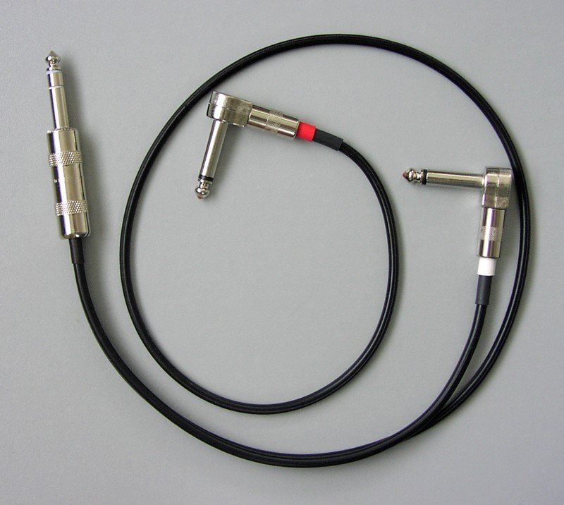 Insert Patch Cable - Stereo Y